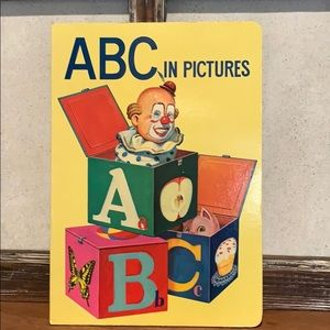 Vintage ABC Picture Book